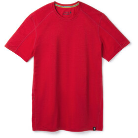 Smartwool Merino Sport 150 Hidden Pocket Tee Men chili pepper heather